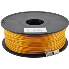 PLA GOLD ON REEL FOR 3D PRINTERS - 1 KG- 1,75 mm