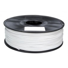 PLA WHITE ON REEL FOR 3D PRINTERS - 1 KG