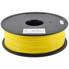 PLA YELLOW ON REEL FOR 3D PRINTERS - 1 KG- 1,75 mm