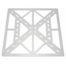 Aluminium 3D printer bed plate