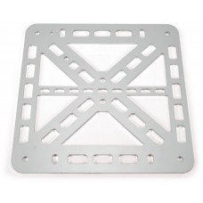 Aluminium 3D printer bed support