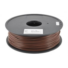 PLA BROWN ON REEL FOR 3D PRINTERS - 1 KG- 1,75 mm