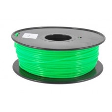 PLA FLUO GREEN ON REEL FOR 3D PRINTERS - 1 KG