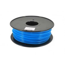 PLA BLUE Glow in the dark -  LUMINESCENT ON REEL FOR 3D PRINTERS - 1 KG