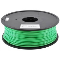 PLA NUCLEAR GREEN  ON REEL FOR 3D PRINTERS - 1 KG