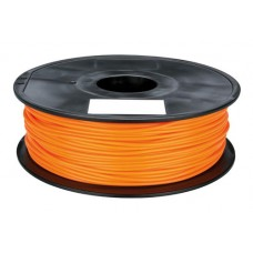 PLA ORANGE ON REEL FOR 3D PRINTERS - 1 KG