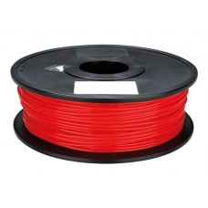 PLA RED ON REEL FOR 3D PRINTERS - 1 KG