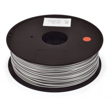 PLA SILVER ON REEL FOR 3D PRINTERS - 1 KG- 1,75 mm