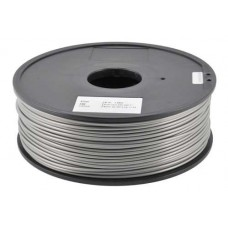 ABS - SILVER FOR 3D PRINTERS - 1 KG - 1,75 MM