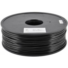 PLA BLACK ON REEL FOR 3D PRINTERS - 1 KG- 1-75 mm