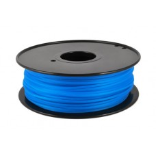 PLA FLUO BLUE ON REEL FOR 3D PRINTERS - 1 KG