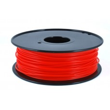 PLA FLUO RED ON REEL FOR 3D PRINTERS - 1 KG