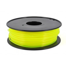 PLA FLUO YELLOW ON REEL FOR 3D PRINTERS - 1 KG