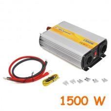 Modified sine wave inverter output 1500W 12V-220VAC + USB