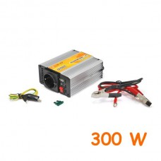 Modified Sine Wave DC-AC Power Inverter - 12 V - 300 W + USB
