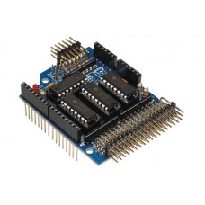 Analog input extension shield for Arduino
