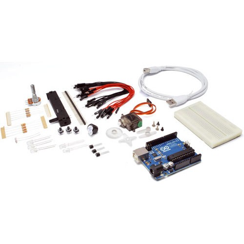 Starter kit with arduino uno basic level this
