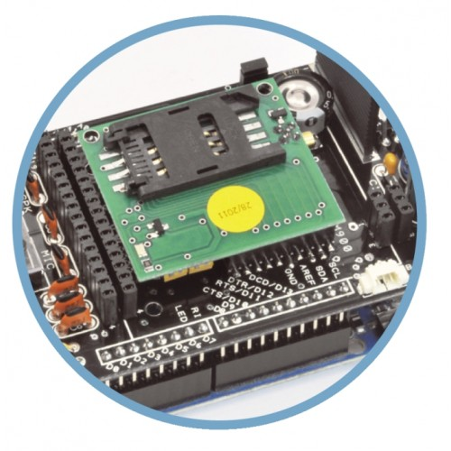 GSM/GPRS & GPS shield for Arduino- Shield Arduino that can accept