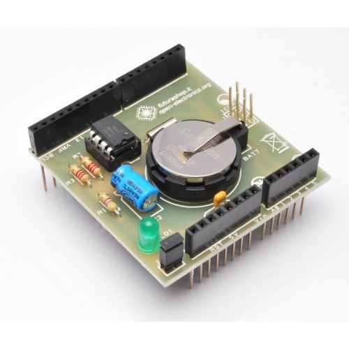 Rtc shield for arduino based on maxim dallas ds this