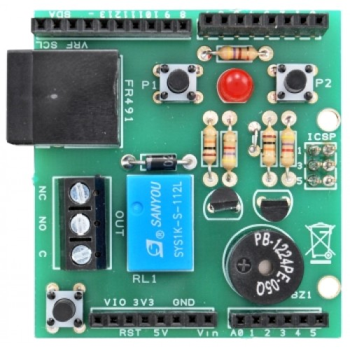 Power meter shield for Arduino- This shield for Arduino is
