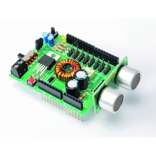 Robot shield for arduino to control up