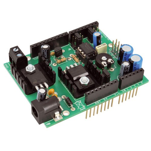 Timer shield for arduino based on the