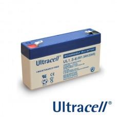 Lead-acid battery ULTRACELL - 6V 1,3Ah