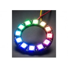 RING WITH 12 LED RGB WS2812 AND DRIVER INTEGRATED