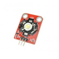 3W High-Power keyes LED module with PCB chassis for Arduino