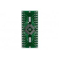 PCB adapter to QFP32 DIP32 pin