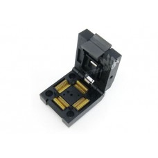 ZIF socket for SMD QFP 100 pin