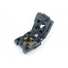 ZIF socket for SMD QFP 44 pin