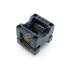 ZIF socket for SMD SOIC 14 pin