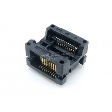 ZIF socket for SMD SOIC 20 pin