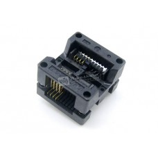 ZIF socket for SMD SOIC 8 pin