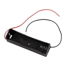 Wire battery holder - 1 battery 18650 type