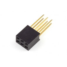 3x2 pin female connector