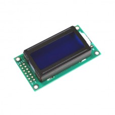 8 x 2 LCD Module 0802 Character Display Screen