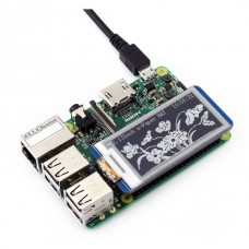 250x122, 2.13inch E-Ink display HAT for Raspberry Pi