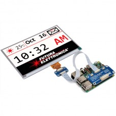640x384, 7.5inch E-Ink display HAT for Raspberry Pi, three-color