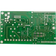 PCB of the GSM remote control