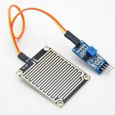 Rain sensor with electronics
