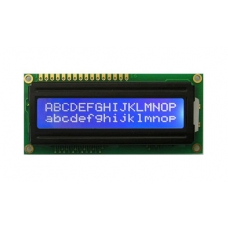 LCD 16x2 Characters - Blue back light