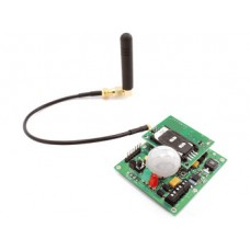 Multifunctional GSM alarm with SIM900