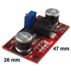 Boost/Step-up converter, output 4~30V adjustable