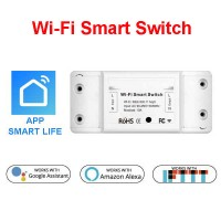 Wi-Fi Smart Switch - Amazon Alexa and Google Assistant