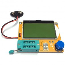 Tester with LCD display for Transistors, Diodes,Mosfets,SCR