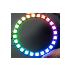 RING WITH 24 LED RGB WS2812 AND DRIVER INTEGRATED