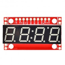 4 Digit Display with TTL, SPI or I2C Serial Interface