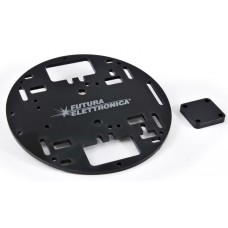 Black Chassis for Robot